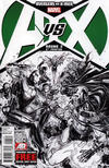 Cover Thumbnail for Avengers vs. X-Men (2012 series) #2 [6th Printing Variant]