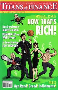 Cover Thumbnail for Titans of Finance: True Tales of Money & Business (Alternative Comics, 2001 series)