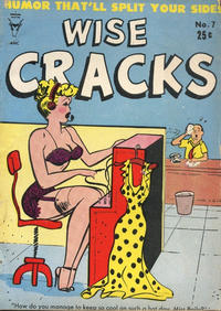 Cover Thumbnail for Wise Cracks (Toby, 1955 series) #7