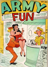 Cover Thumbnail for Army Fun (Prize, 1952 series) #v4#1