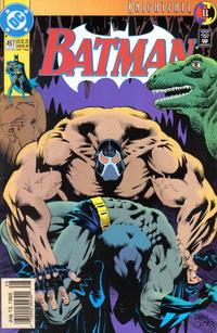 Cover Thumbnail for Batman (DC, 1940 series) #497 [Newsstand]