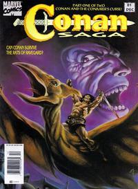 Cover Thumbnail for Conan Saga (Marvel, 1987 series) #81 [Newsstand]