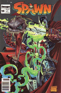 Cover Thumbnail for Spawn (Image, 1992 series) #15 [Newsstand]