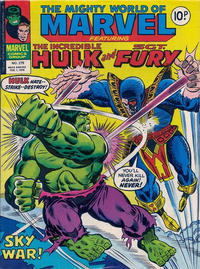 Cover Thumbnail for The Mighty World of Marvel (Marvel UK, 1972 series) #279