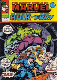 Cover for The Mighty World of Marvel (Marvel UK, 1972 series) #285