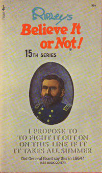 Cover Thumbnail for Ripley's Believe It or Not! (Pocket Books, 1941 series) #15 [Seventh Printing]