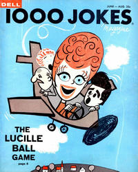Cover Thumbnail for 1000 Jokes (Dell, 1939 series) #90