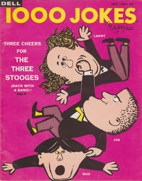 Cover for 1000 Jokes (Dell, 1939 series) #91