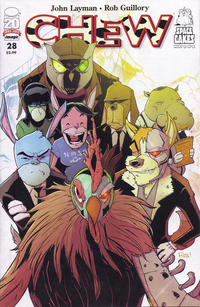 Cover Thumbnail for Chew (Image, 2009 series) #28