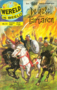 Cover Thumbnail for Wereld in beeld (Classics/Williams, 1960 series) #32 - De Gesel der Tartaren