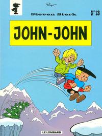 Cover Thumbnail for Steven Sterk (Le Lombard, 1993 series) #13 - John-John