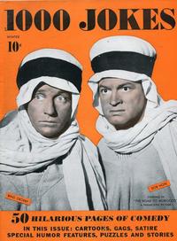 Cover Thumbnail for 1000 Jokes (Dell, 1939 series) #25