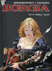 Cover Thumbnail for Borgia (Taurus Media, 2006 series) #2 - Władza i grzech