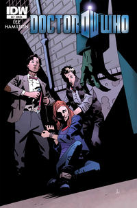 Cover Thumbnail for Doctor Who (IDW, 2011 series) #4 [Cover RI]
