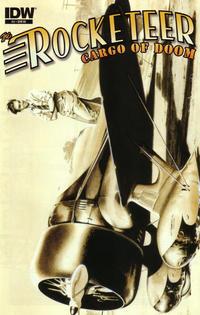 Cover Thumbnail for The Rocketeer: Cargo of Doom (IDW, 2012 series) #2 [RI-Dave Stevens Art]