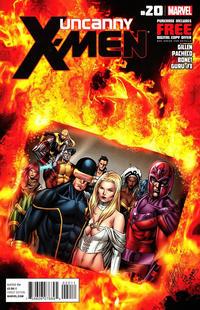 Cover Thumbnail for Uncanny X-Men (Marvel, 2012 series) #20