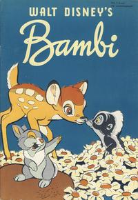 Cover Thumbnail for Walt Disney's serier (Hjemmet / Egmont, 1950 series) #[2/1952]