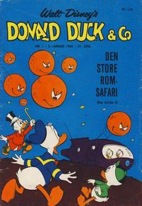 Cover Thumbnail for Donald Duck & Co (Hjemmet / Egmont, 1948 series) #1/1968