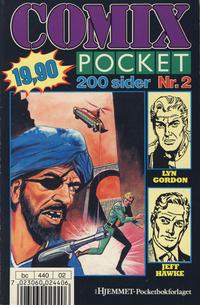 Cover Thumbnail for Comix pocket (Hjemmet / Egmont, 1990 series) #2