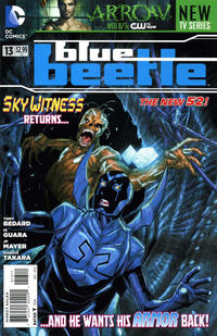 Cover Thumbnail for Blue Beetle (DC, 2011 series) #13