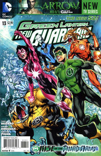 Cover Thumbnail for Green Lantern: New Guardians (DC, 2011 series) #13