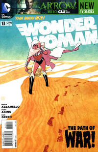 Cover Thumbnail for Wonder Woman (DC, 2011 series) #13