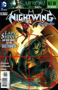 Cover Thumbnail for Nightwing (DC, 2011 series) #13