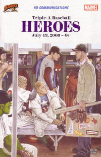 Cover Thumbnail for Custom: Triple A Baseball Heroes (Marvel, 2007 series) #2 [Buffalo Bisons variant]