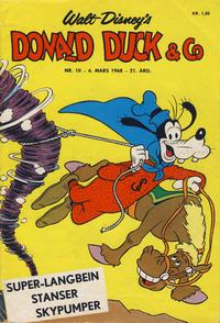 Cover Thumbnail for Donald Duck & Co (Hjemmet / Egmont, 1948 series) #10/1968