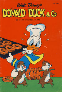 Cover Thumbnail for Donald Duck & Co (Hjemmet / Egmont, 1948 series) #16/1968