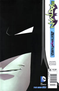 Cover Thumbnail for Batman (DC, 2011 series) #13 [Newsstand]