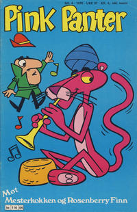 Cover Thumbnail for Pink Panter (Semic, 1977 series) #4/1978
