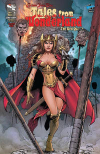 Cover Thumbnail for Tales from Wonderland: Red Queen (Zenescope Entertainment, 2009 series) #1 [cover c]