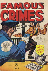 Cover Thumbnail for Famous Crimes (Superior Publishers Limited, 1949 series) #8
