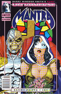 Cover Thumbnail for Mantra (Malibu, 1993 series) #4 [Newsstand Edition]