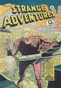 Cover Thumbnail for Strange Adventures (K. G. Murray, 1954 series) #10