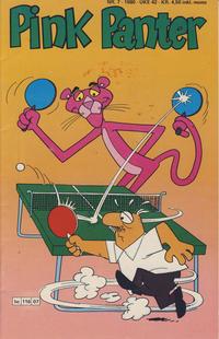 Cover Thumbnail for Pink Panter (Semic, 1977 series) #7/1980