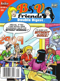 Cover Thumbnail for B&V Friends Double Digest Magazine (Archie, 2011 series) #229 [Newsstand]
