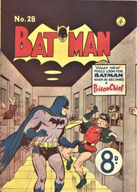 Cover Thumbnail for Batman (K. G. Murray, 1950 series) #28