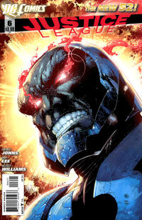 Cover Thumbnail for Justice League (DC, 2011 series) #6 [Ivan Reis Variant Cover]