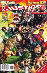 Cover Thumbnail for Justice League (DC, 2011 series) #5 [Combo-Pack]