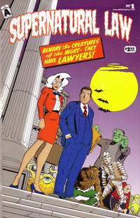 Cover Thumbnail for Supernatural Law (Exhibit A Press, 1999 series) #1