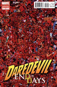 Cover for Daredevil: End of Days (Marvel, 2012 series) #1