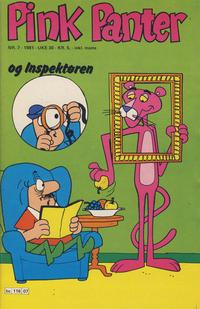 Cover for Pink Panter (Semic, 1977 series) #7/1981