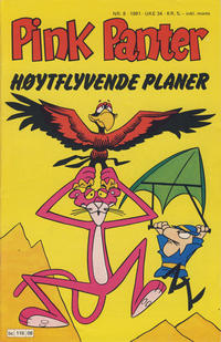 Cover Thumbnail for Pink Panter (Semic, 1977 series) #8/1981