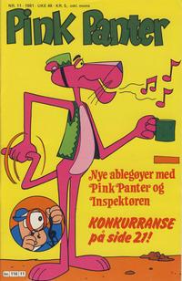 Cover Thumbnail for Pink Panter (Semic, 1977 series) #11/1981