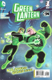 Cover Thumbnail for Green Lantern: The Animated Series (DC, 2012 series) #1