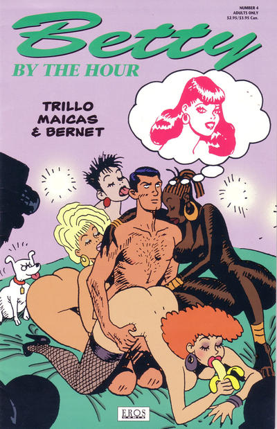 Cover for Betty by the Hour (Fantagraphics, 1994 series) #4