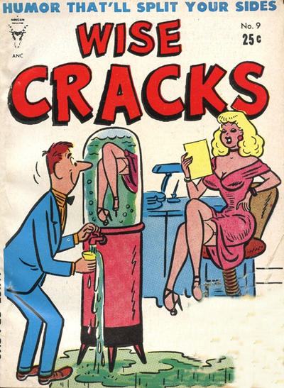 Cover for Wise Cracks (Toby, 1955 series) #9