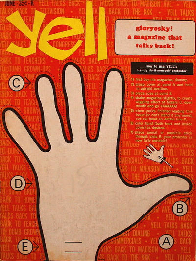 Cover for Yell (K-M-R Publications, 1966 series) #2